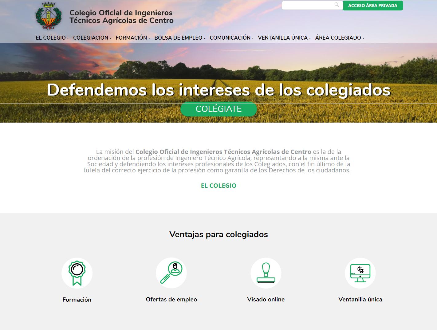 web_colegio_oficial_de_ingenieros_tecnicos_agricolas_de_centro